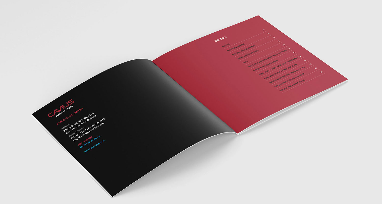 Catalogue Design - Brand Development